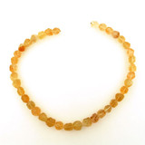 38 Count Graduated Citrine Chiseled Round (Sale)