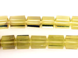 31 Count Varied Size Lemon Citrine Hexagonal Cylinders (Sale)