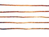 290 Count 2.5mm Multicolor Citrine Faceted Rondelles (Sale)