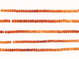 140 Count 4mm Multicolor Citrine Faceted Rondelles (Sale)