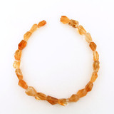 23 Count Varied Size Citrine Faceted Nuggets (Sale)