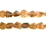 27 Count Graduated Citrine Faceted Nuggets (Sale)