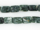 29 Count 14mm Seraphinite Rectangle Gemstones (Sale)