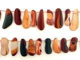 20 Count Varied Size Brown Wonder Stone-Utah Smooth Free Form Slices (Sale)