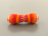 1 Count 54mm Orange Luigi Cattelan's Italian Glass Bead '1 Of A Kind' (Sale)