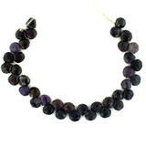 38 Count 7-8mm Sugilite Faceted Pears (Sale)