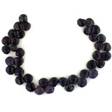 35 Count 9-10mm Sugilite Faceted Pears (Sale)