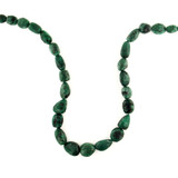 27 Count Emerald Graduated Faceted Ovals '1 Of A Kind' (Sale)