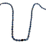 Apx 53 Count Blue Kyanite Graduated Polished Ovals (Sale)