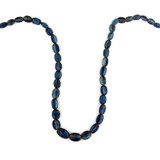 51 Count Blue Kyanite Graduated Faceted Ovals '1 Of A Kind' (Sale)