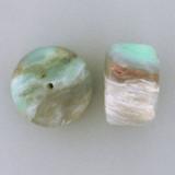 Blue Peruvian Opal Smooth Barrels