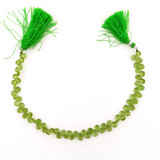 75 Count Varied Size Peridot Faceted Pears (Sale)