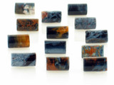 13 Count 10x6mm Namibian Pietersite Polished Tubes (Sale)