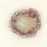 1 Count 43x40x5mm Light Amethyst Stalactite Slice (Sale)
