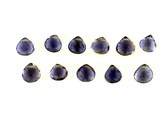 12 Count Iolite Graduated Faceted Pears (Sale)