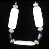 11 Count Amethyst, Purple Crazy Lace & White Agate (Sale)