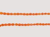 51 Count Graduated Orange Spessartite Faceted Ovals 'One Of A Kind' (Sale)