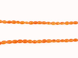 61 Count Graduated Orange Spessartite Faceted Ovals 'One Of A Kind' (Sale)