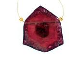 1 Count Pink Tourmaline Polished Slice (Sale)
