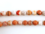 39 Count 10mm Fire Agate Polished Rounds (Sale)