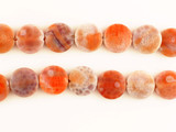 26 Count 15mm Fire Agate Polished Coins (Sale)