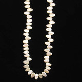 50 Ct Pearl Flat Bottom Drilled Ovals (Sale)