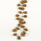 Apx 22 Count Lg Picture Jasper Faceted Drops  (Closeout)