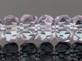 40 Count 8mm Lavender Cz Faceted Rondelles (Sale)