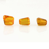 3 Count Yellow Cz Simple Cut Nuggets (Sale)