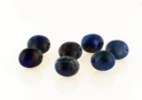 10 Count 12x10mm Lapis Lazuli Overlapping Oval