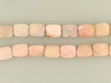 20 Count 8x10mm Pink Peruvian Opal Faceted Rectangles (Sale)