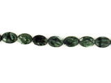 9 Count 14x10mm Seraphinite Polished Ovals (Sale)