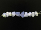10 Count Varied Sizes Chalcedony Simple Cut Nuggets (Sale)