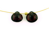 2 Count 8mm Red Garnet Faceted Pears (Sale)