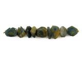 9 Count Varied Sizes Blue Rough Sapphire Simple Cut Nuggets (Sale)