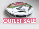 Econoflex Hobby Beading Wire - Midnight Black (Outlet Sale)