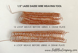Lazee Daizee Viking Knit Wire Weaving Tool 1/2""