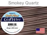 90 Ft 26 Ga Smokey Quartz Soft Flex Craft Wire (Closeout)