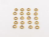 20 Count 5mm Closed Antiqued Brass 20G Jump Rings