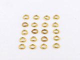 6 Count 5mm Open Brass 20G Jump Rings