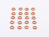 20 Count 5mm Closed Copper 20G Jump Rings