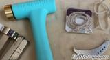 ImpressArt Brass Texture Stamper Head for Metal Stamping Jewelry