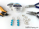 Multi-Size Mandrel Wire Wrapping and Wire Looping Jewelry Tool, Makes 6 Sizes of Consistent Loops