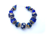 2020 Fall/Winter Pantone Blue Depths Bead Strand