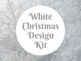 White Christmas Design Kit