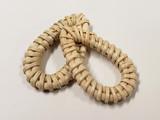 Shop Handmade Rattan Woven Straw Teardrop And Rings!