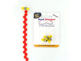 Mini Yellow Bead Stoppers - 4 Pack (Closeout)
