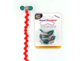 Teal Bead Stoppers - 4 Pack (Closeout)