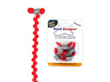 Red Bead Stoppers - 4 Pack