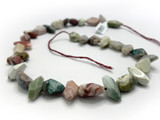 Imperial Jasper Faceted Nuggets